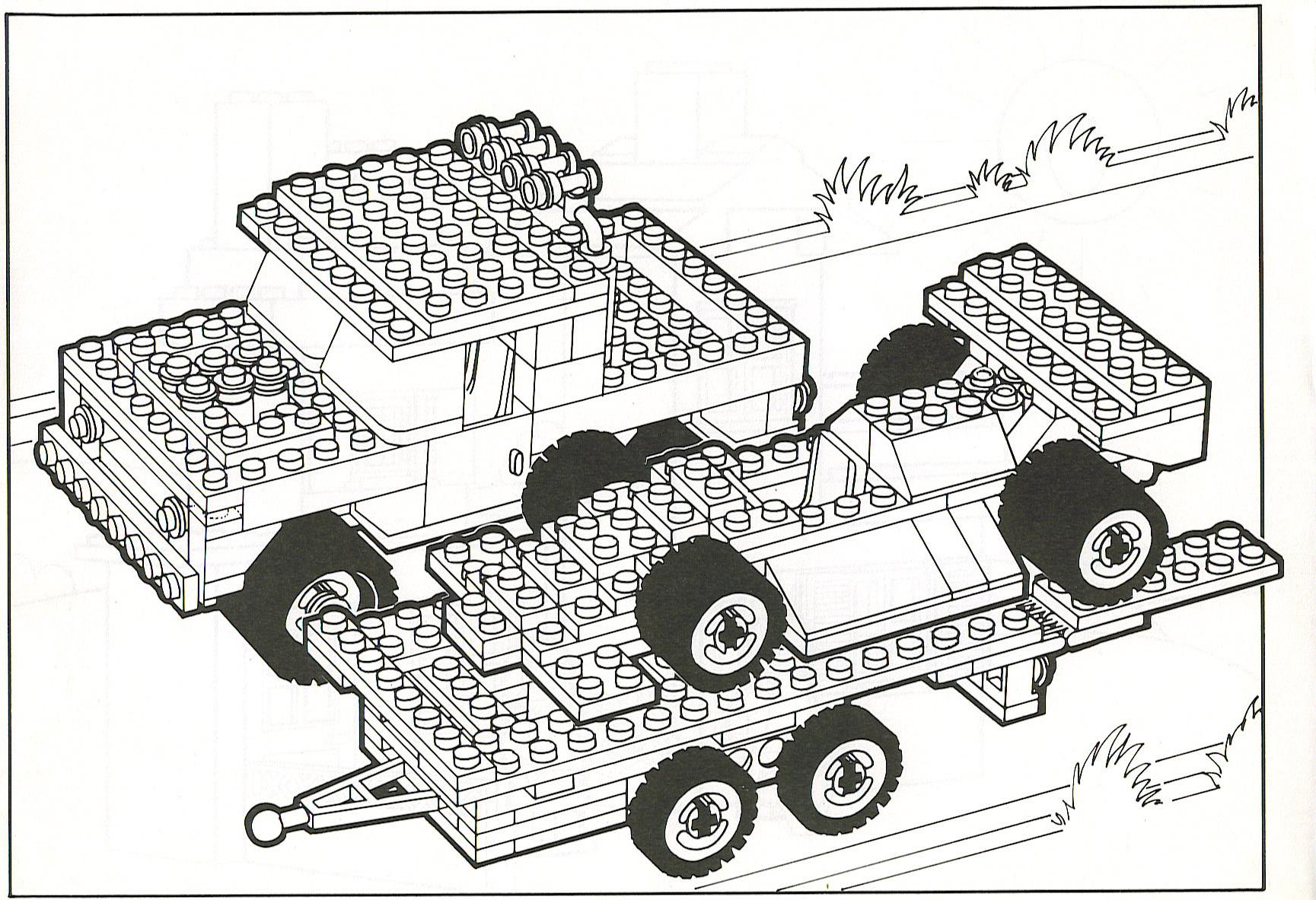 lego fire truck coloring page - photo #27