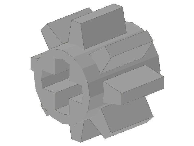lego technic tandwiel 08 tands klein ebricks building. Black Bedroom Furniture Sets. Home Design Ideas