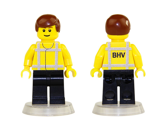 Lego Minifig Bhv Lid Nl Ebricks Building At Your
