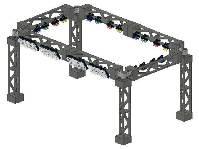 LEGO Podium, medium, eBricks - Building at your Education