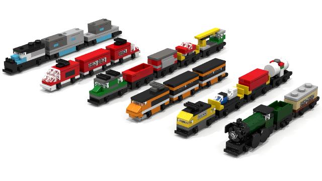 lego city train set instructions